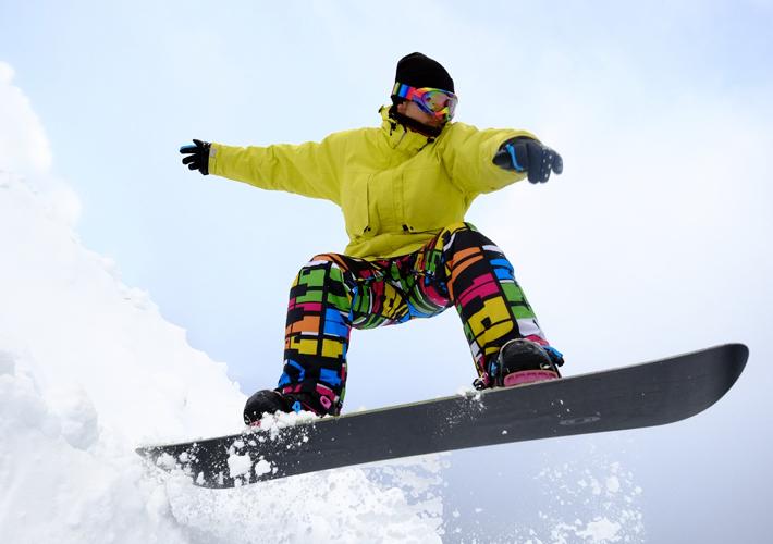 Immediately from the ski resort!